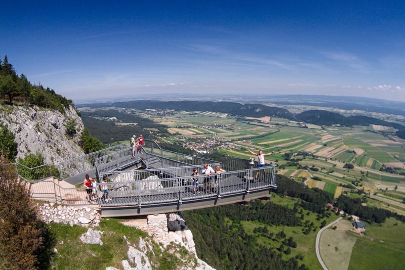 2018.09.29. / Ausztria - buszos kirándulás a Hohe Wandon-hoz és a híres Skywalk kilátóhoz / fő