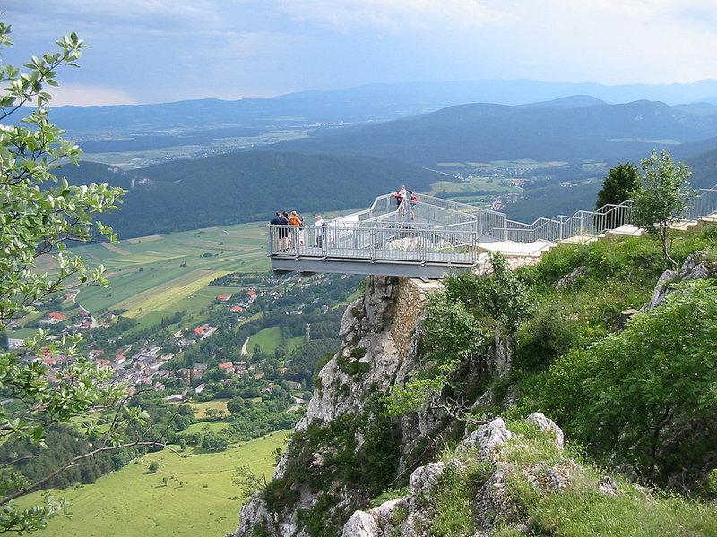 2017.08.26. / Ausztria - buszos kirándulás a Hohe Wandon-hoz és a híres Skywalk kilátóhoz / fő