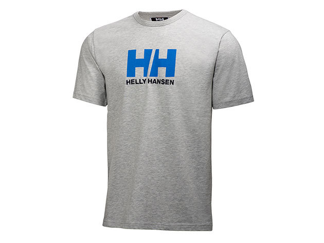 Helly Hansen HH LOGO T-SHIRT GREY MELANGE XL (54156_949-XL)