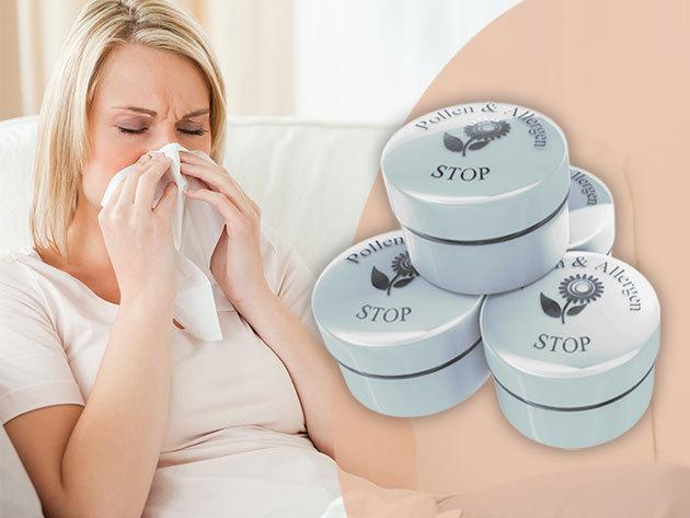 Pollen & Allergen Stop - Allergiás vagy? A pollen stop a lehet megoldás, gyógynövények erejével (6ml, kb. 30-35 napi adag)