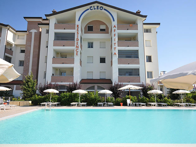 Olaszországi üdülés - Lido degli Estensi, Residence Cleo - 3, 5 vagy 8 nap szállás 2 fő részére medencés apartmanban, az elő- és utószezonban