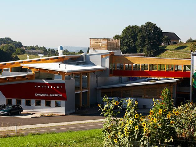 2017. szeptember 30. / RIEGERSBURG Zotter Csokoládégyár és Hundertwasser-fürdő / fő