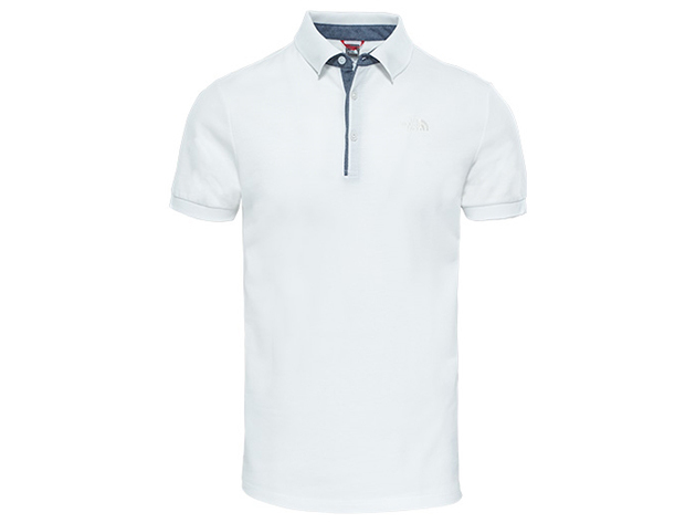 The North Face PREMIUM POLO PIQUE TNF WH/GA WH - T0CEV4TAD - XL