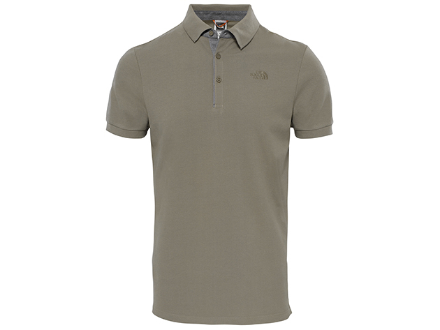 The North Face PREMIUM POLO PIQUE FALCON BROWN - T0CEV4NXL - L - AZONNAL ÁTVEHETŐ