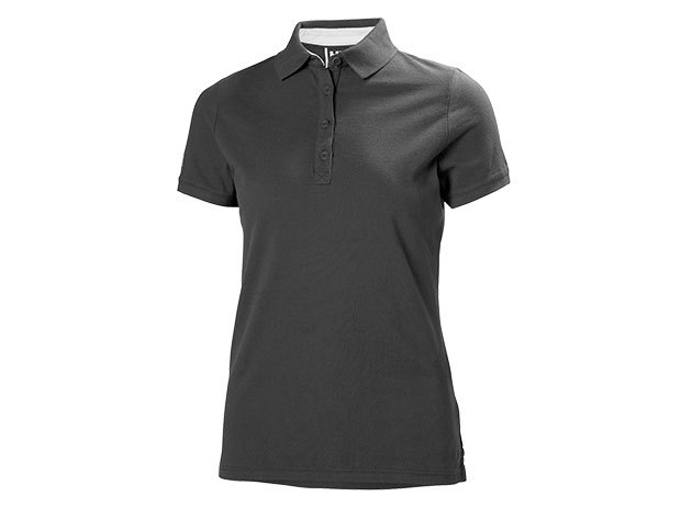 Helly Hansen W CREW PIQUE 2 POLO EBONY XL (53055_980-XL)
