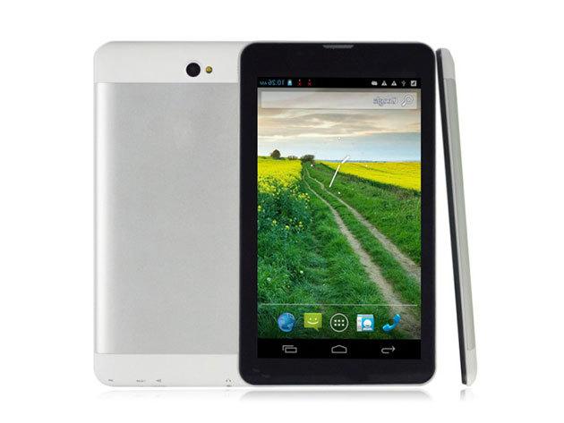 """MT102W 7"""" tablet (elől fekete, hátul ezüst)"""