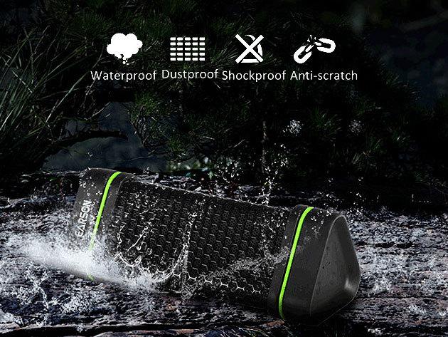 Bluetooth sztereo hangszóró - vízálló, porálló, Anti -scratch, ütésálló, beltéri és kültéri használatra, nagy teljesítményű akksival