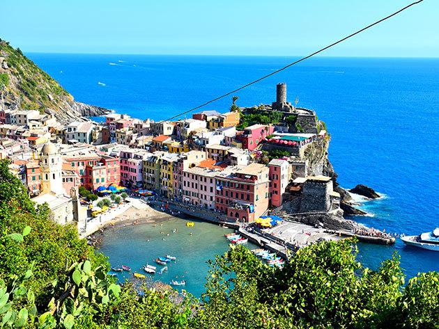 Cinque Terre - Ég és Föld között! 7 napos csillagtúra busszal. szállás hotelben reggelivel, programok idegenvezetővel