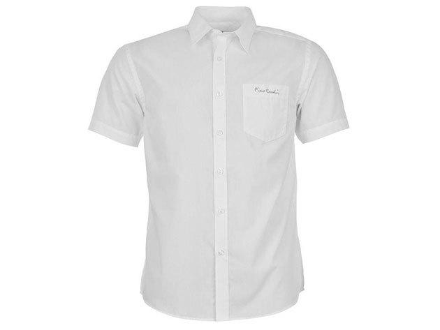 Pierre Cardin férfi rövid ujjú ing - fehér - 55713477 - M