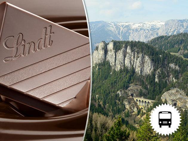 Semmering varázsa Lindt csokigyár-látogatással - buszos kirándulás Ausztriába - nyári és őszi időpontok / fő