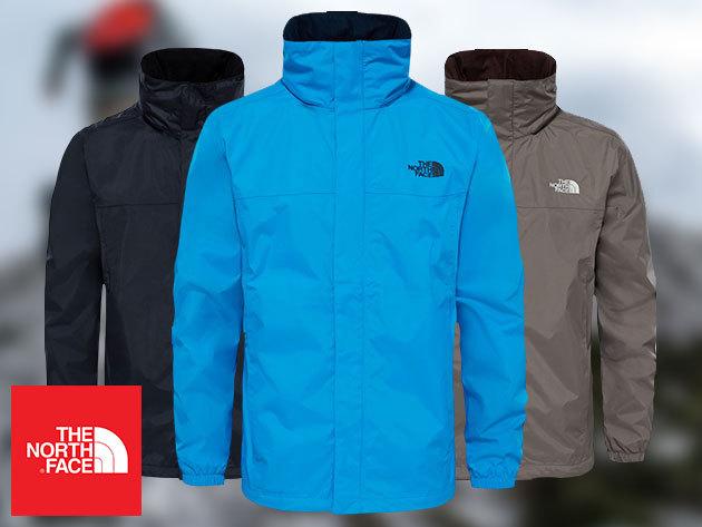 The North Face® MEN'S RESOLVE, RESOLVE 2 és QUEST JACKET - prémium technikai kabát férfiaknak M-XXL méretben
