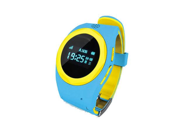 Smart GPS Kids Watch - kék-sárga - AZONNAL ÁTVEHETŐ