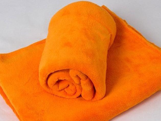 Polár takarók 150x200 cm és 200x230 cm méretben, puha anyagból a nyári alkalmakra / vidám színekben