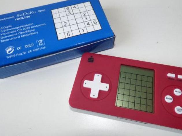 Sudoku gép - a közkedvelt logikai játék elektronikus változatban, minden korosztálynak / Tornáztasd az agyad!