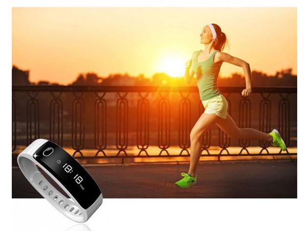 H8 Bluetooth aktivitásmérő karpánt! Lépésszámláló, óra, értesítések, kalória mérő, alvásminőség, stb. funkciók