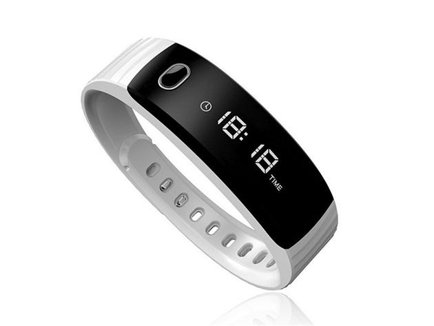 H8 Bluetooth aktivitásmérő karpánt - FEHÉR