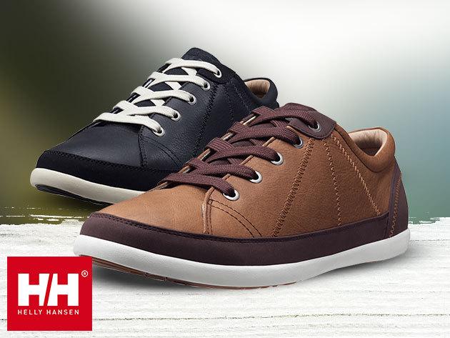 Helly Hansen STRANDABERG férfi cipő prémium minőségű bőr felsőrésszel, EVA comfort talpbetéttel - stílusos tavaszi lábbeli (méret: 40-45) egyes termékek azonnal átvehetőek