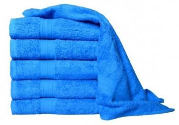 Frottír törülköző 50x100 - kék színű