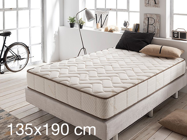 Visco Luxury Royal Cashmere Mattress, Double - 135x190 (15 kg)