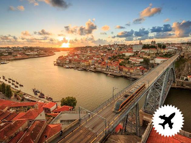 Portugália, utazás repülővel - szállás 3 napra Portoban, város közeli 3*-os szállodában reggelivel, repülőjeggyel és illetékekkel / 2 fő