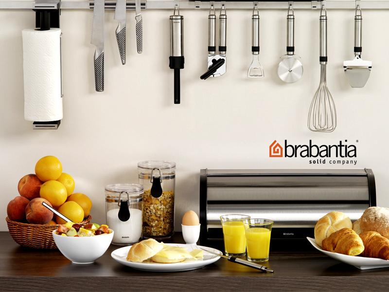Az elegáns Brabantia kenyértartók hosszantartó frissességet biztosítanak a pékáruknak, most 42% kedvezménnyel.
