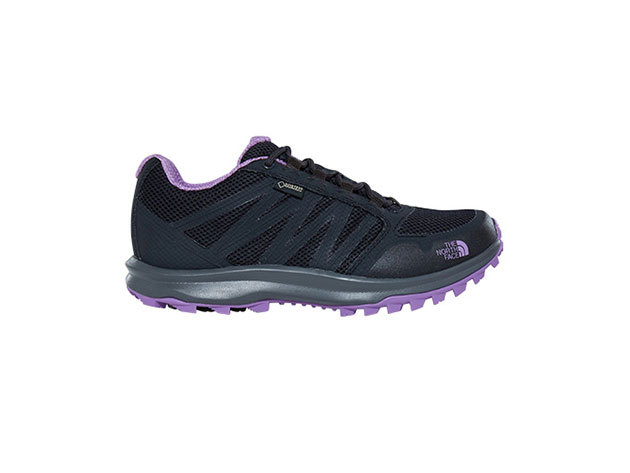 THE NORTH FACE - LITEWAVE FP GTX PHANTOM GREY/BELLFLOWER PURPLE T92Y8VTFQ / US 7 EU 38