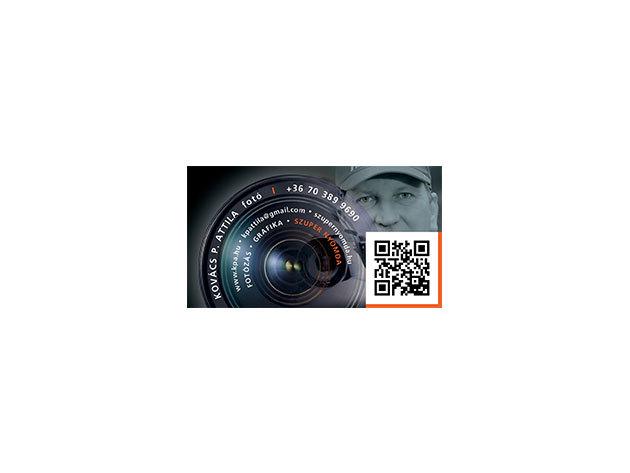 Laminált Névjegykártya - 100 db 300 gr- papír laminált - 4+4 szín (kétoldalas)