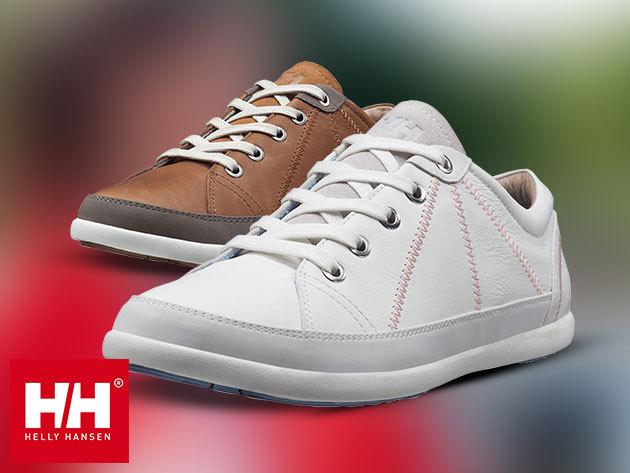 Helly Hansen W STRANDABERG női cipő prémium minőségű bőr felsőrésszel, EVA comfort talpbetéttel - stílusos tavaszi lábbeli (méret: 36-42) egyes termékek azonnal átvehetőek