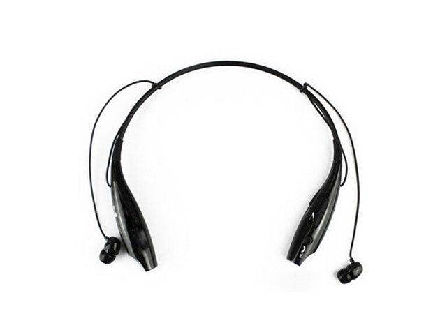 Extrém sport bluetooth headset (FEKETE)