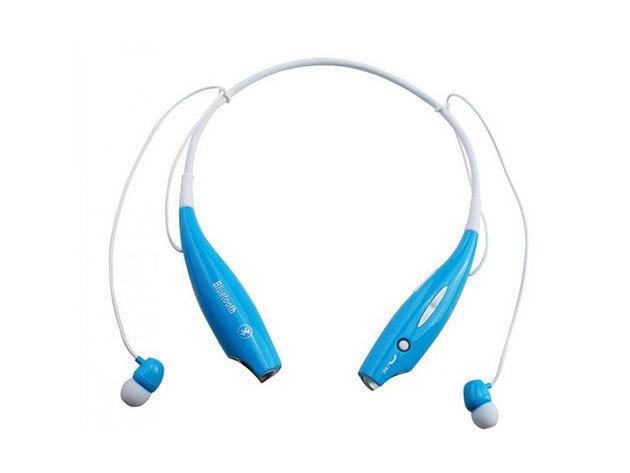 Extrém sport bluetooth headset (KÉK)