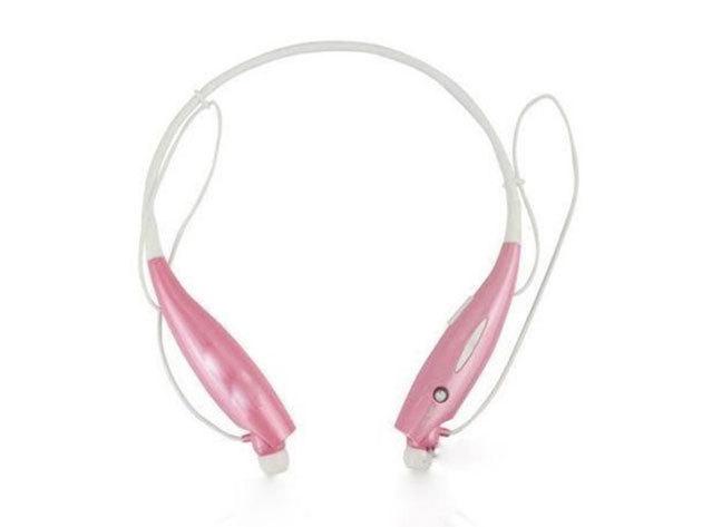 Extrém sport bluetooth headset (RÓZSASZÍN)
