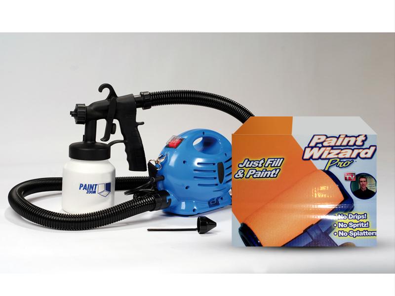 Paint Zoom dupla csomag: 1db Paint Zoom - festékszóró + 1db Paint Wizard Pro - profi festőkészlet