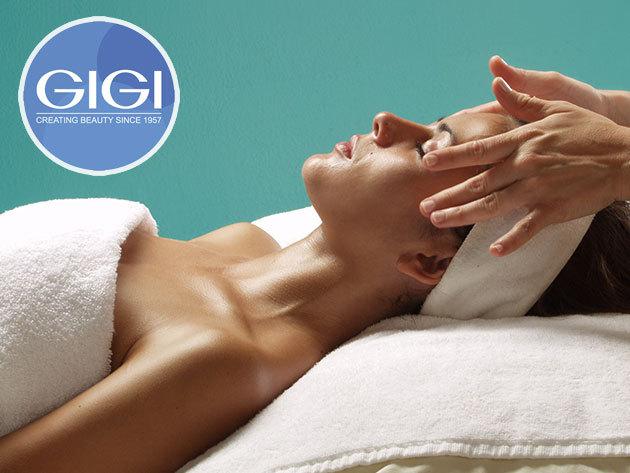Kényeztető arckezelés masszázzsal (60 perc - arc, nyak, dekoltázs) bőrfiatalító GIGI Holt-tengeri kozmetikumokkal / Avatar Holisztikus Gyógyászat