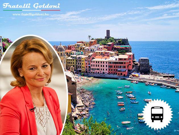 Cinque Terre és Ligúria - Körutazás és nyaralás Itália legvarázslatosabb tengerpartján - városnéző programok, hajókirándulások, tengerparti fürdőzés, túrázás / fő - Olvasd el Götz Anna élménybeszámolóját!