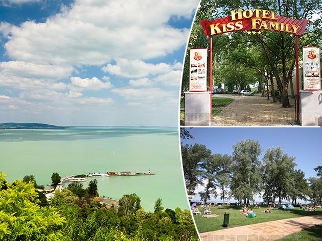 Balatonföldvár, Hotel Kiss Family - 4 vagy 8 nap szállás, reggeli + wellness, 2+1 fő (6 éves korig) részére, augusztus 21-ig