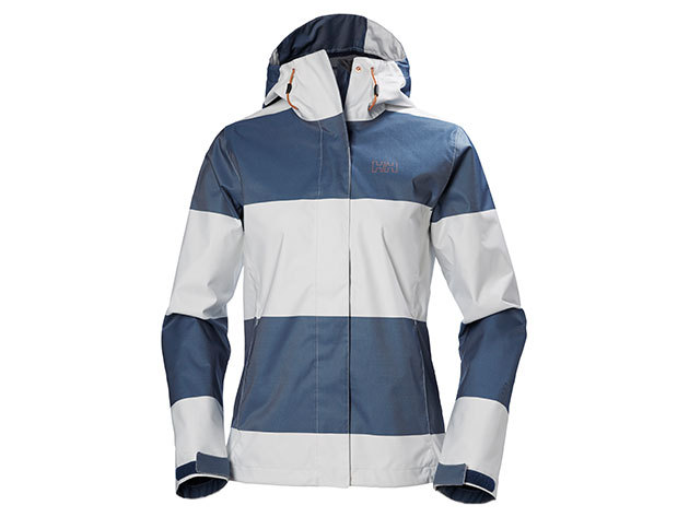 Helly Hansen W NINE K JACKET MARINE BLUE WIDE STRIPE M (62300_581-M)