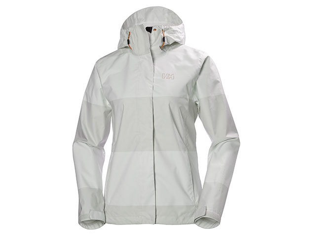Helly Hansen W NINE K JACKET NIMBUS CLOUD WIDE STRIPE L (62300_823-L)