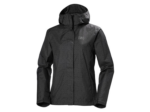 Helly Hansen W NINE K JACKET CHARCOAL HERITAGE GRID S (62300_964-S)