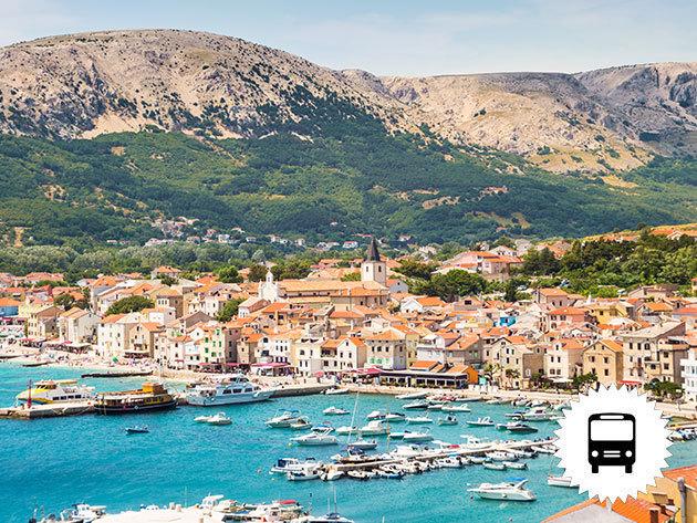 Horvátország, Krk sziget, non-stop buszos utazás július 8-9. /fő - Csobbanj egy nagyot az adriai tengerben!