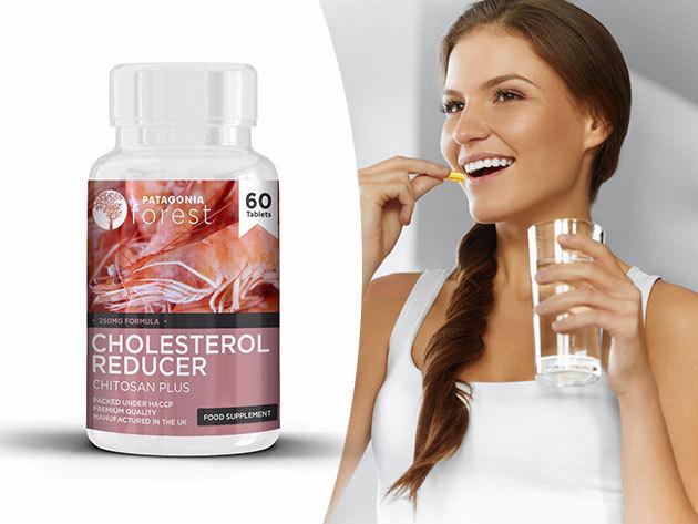 Chitosan Plus - Koleszterin(zsír) csökkentő táplálék kiegészítő 250 mg, 60 kapszula/doboz! Érezd magad jobban a bőrödben!