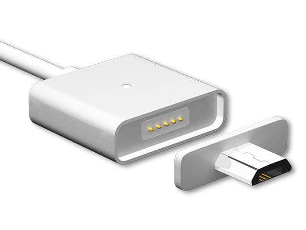 Mágneses USB töltőkábel adapterrel