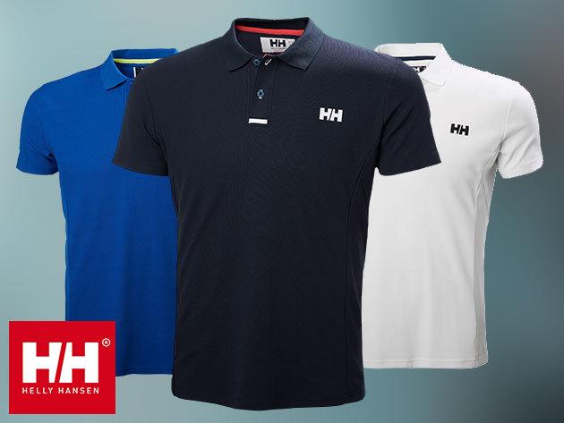 Helly Hansen HP PIER POLO - sportosan elegáns, galléros piké póló (Tactel® piké), UPF 40+ védelemmel - már csak 1 db XXL, azonnal átvehető!