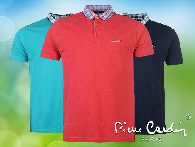 Pierre Cardin férfi galléros póló divatos színekben c9cafe45a3