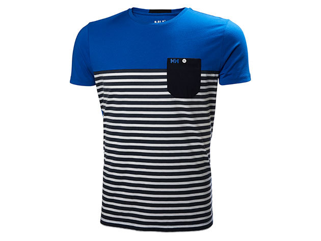 Helly Hansen FJORD T-SHIRT NAVY STRIPE XL (53025_598-XL)