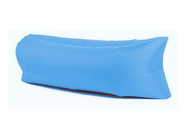 Felfújható ágy strandoláshoz, kempingezéshez - kék