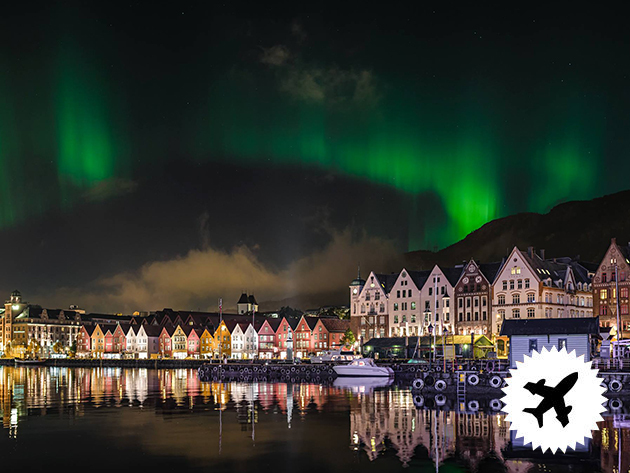 Norvégia, BERGEN – a fjordok kapuja! 4 nap/3éj város közeli 3*-os szállodában reggelivel, repülős utazással 2 főnek, 2017 november 2018 március között!