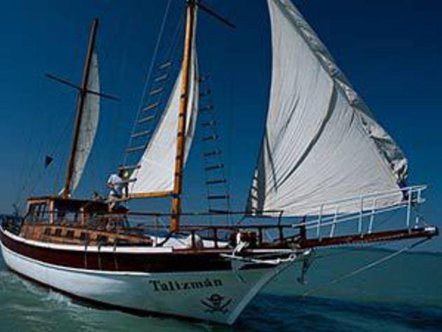 Felnőtt jegy / Kincskereső Kalóz-Talizmán gyerekhajó a Balatonon / fő