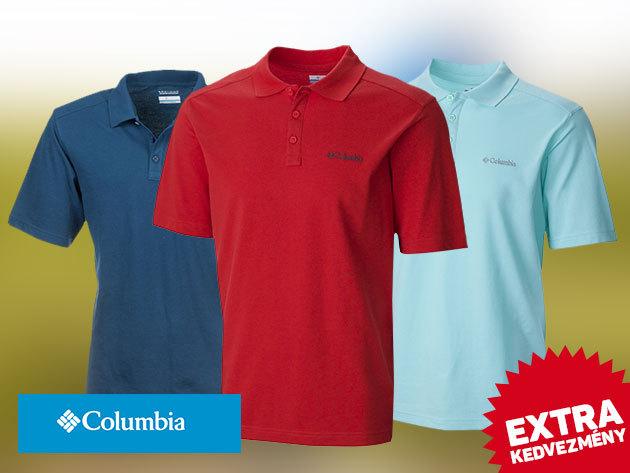 Columbia férfi galléros pólók (Elm Creek Polo) - prémium minőség kihagyhatatlan áron