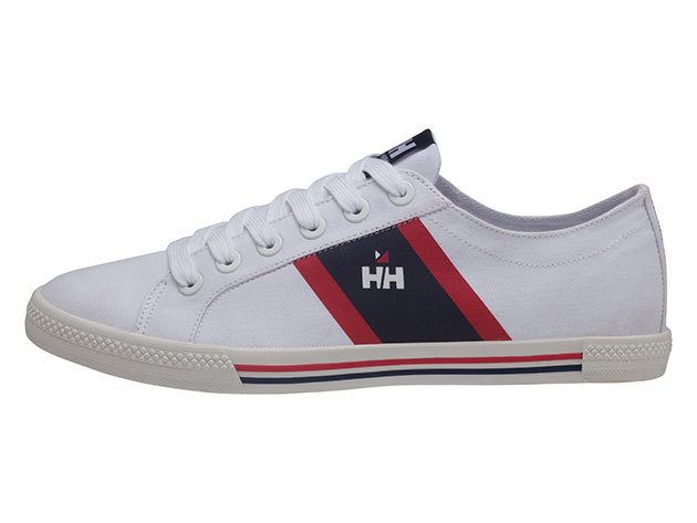 Helly Hansen BERGE VIKING LOW WHITE / NAVY / RED EU 42/US 8.5 (10764_001-8.5) - AZONNAL ÁTVEHETŐ