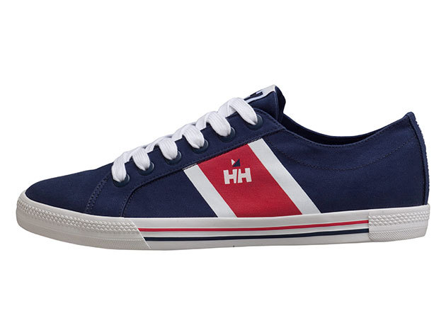 Helly Hansen BERGE VIKING LOW NAVY/WHITE/RED EU 43/US 9.5 (10764_597-9.5) - AZONNAL ÁTVEHETŐ